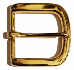 "40mm 'Gilt' Belt Buckle. Suitable for belts up to 38mm (1½""). Code AZ13"